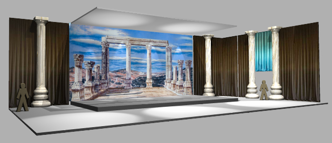 Create a spectacular event with one of our many backdrop rentals